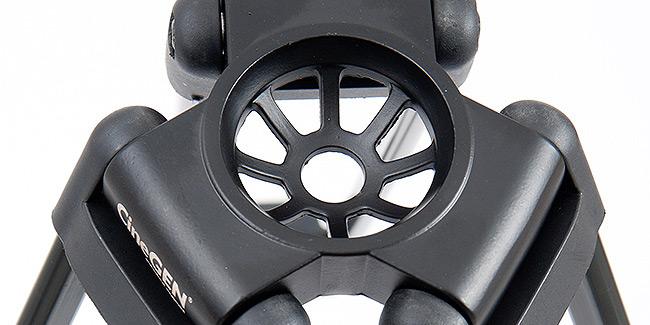 Statyw video CG-650 - kosz montażu głowicy