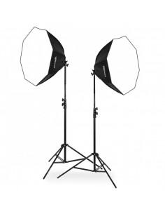 2x lampa SOFTBOX octa 60cm...
