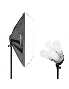Lampa SOFTBOX 50x70 4x85W 802