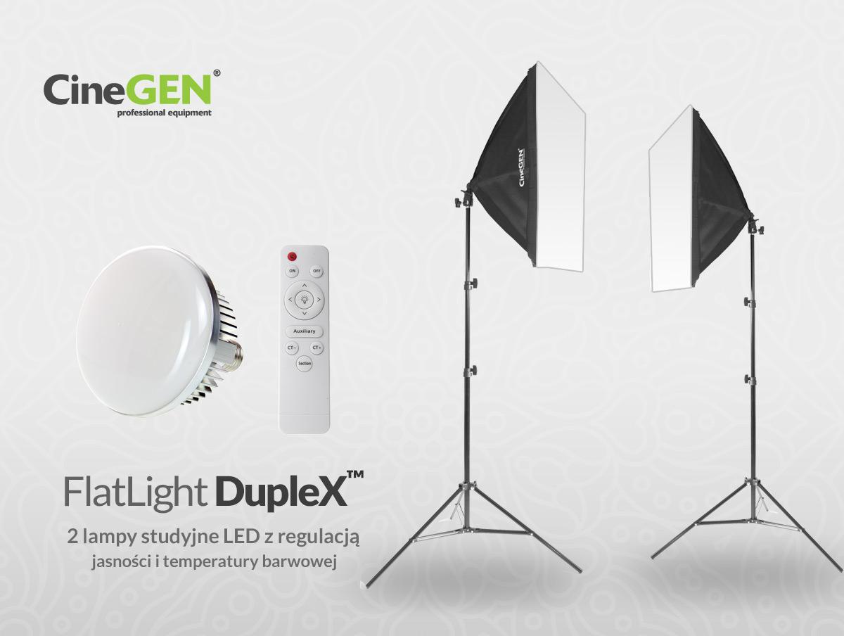 Domowe Studio Foto LED