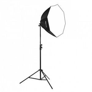 Lampa światła stałego SOFTBOX octa 60cm 125W 230cm