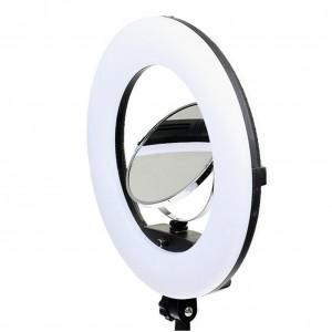 Lampa pierścieniowa LED RING 3200-5500K ŚCIEMNIACZ 96W FE-480II