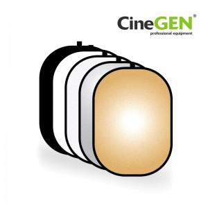 Blenda owalna 5w1, 150/200, marki CineGEN®, GOLD