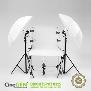 Zestaw do fotografii bezcieniowej BrightSpot™ 832S