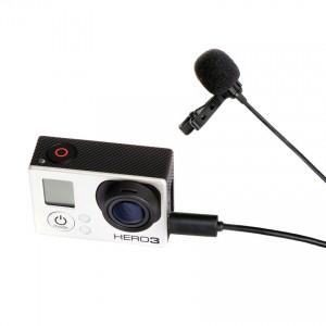 Mikrofon z klipsem do GoPro, model BY-LM20