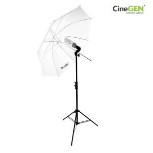 Lampa światła stałego 85W z parasolką SOFTLIGHT 110cm