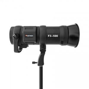 F3-500 Lampa błyskowa 500WS, studyjna, plenerowa