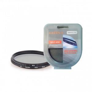 Filtr szary regulowany NDx2-NDx400-FADER-72mm