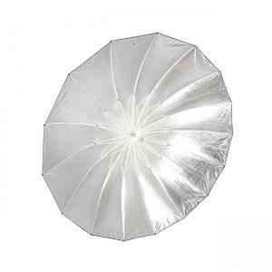 Parasolka fotograficzna CineGEN CGU72BS (rozłożona, wnętrze czaszy)