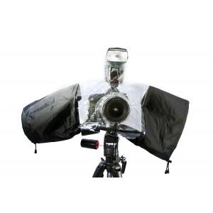 Pokrowiec przeciwdeszczowy do aparatu z lampą