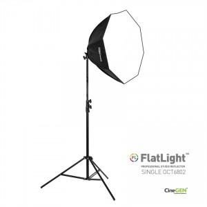 Lampa światła stałego SOFTBOX Octa 60cm 85W 230cm