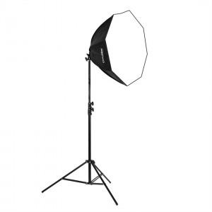 Lampa światła stałego SOFTBOX octa 60cm 65W 230cm