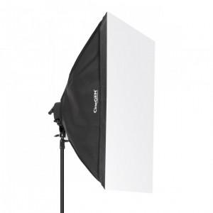 Softbox 60x90cm - oprawa na 5 żarówek