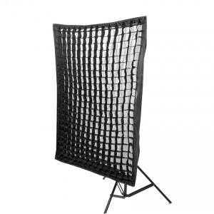 Softbox 80x120 cm z gridem
