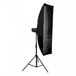 Softbox 35x160 cm z gridem, mocowanie Bowens
