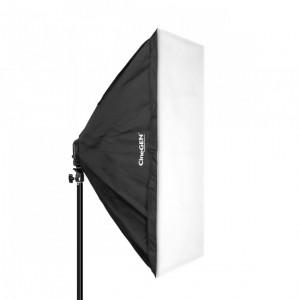 Softbox 60x60cm - oprawa na 4 żarówki
