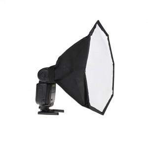 Dyfuzor reporterski na lampę błyskową 28cm OCTA