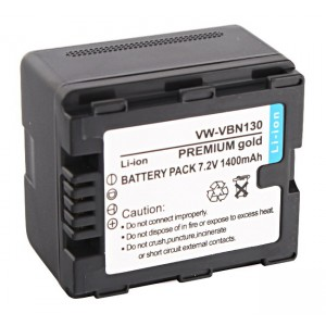 Akumulator VW-VBN130 z chipem 1400mAh