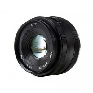 Obiektyw stałoogniskowy Voking 35mm f/1.7 na Micro 4/3