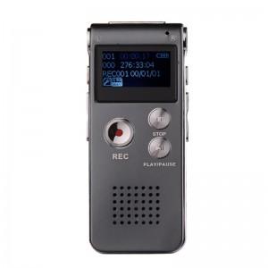 Dyktafon cyfrowy z wyświetlaczem LCD i pamięcią 8GB