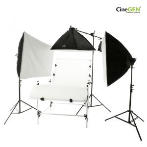 Duży zestaw do fotografii bezcieniowej BrightSpot™ CG-BS24