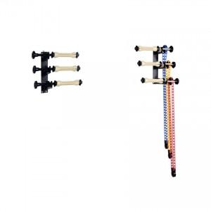 Łańcuszkowy system wieszania teł - zestaw na 3 tła