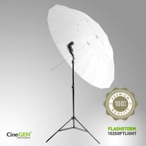 Zestaw oświetleniowy z parasolką SOFTLIGHT 152cm