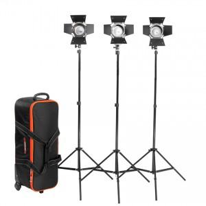 Oświetlenie filmowe i fotograficzne - zestaw