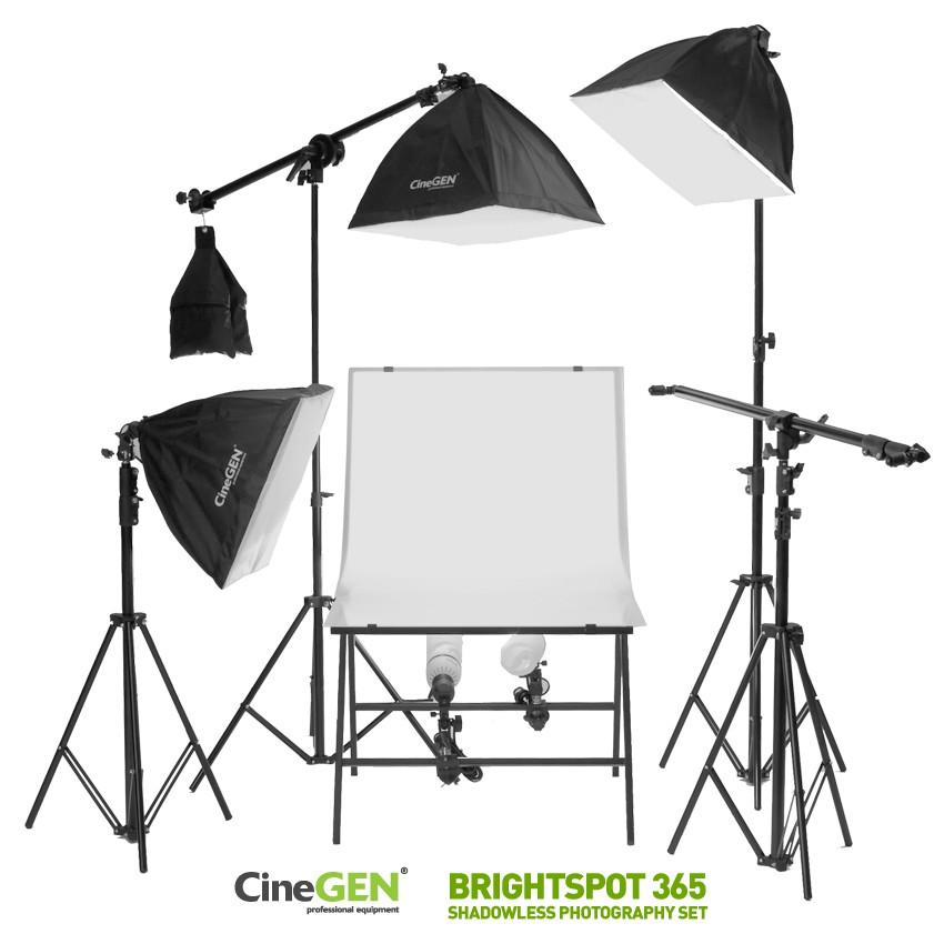 Zestaw do fotografii bezcieniowej BrightSpot™ 365