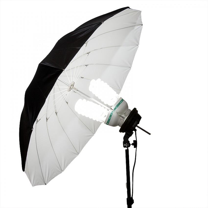 Softbox - opcja z parasolką
