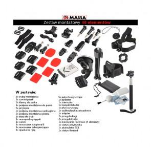 48W1 Zestaw montażowy do kamer sportowych (Sony Action Cam)