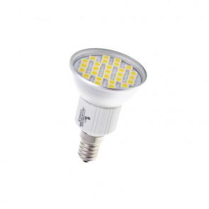 E14 27 LED 5050 SMD CIEPŁA 4,5W=45W SPOTLIGHT