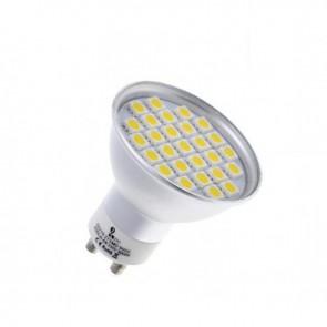 GU10 60 LED 5050 SMD CIEPŁA 4W=45W SPOTLIGHT
