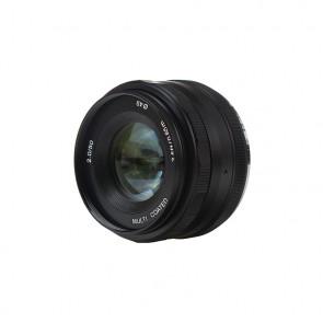 Obiektyw stałoogniskowy Voking 50mm f/2.0 na Micro 4/3