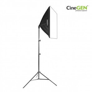 Lampa światła stałego SOFTBOX 50x50cm 65W 230cm
