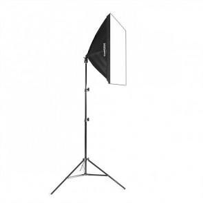 Lampa światła stałego SOFTBOX 50x50cm 125W 230cm