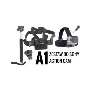 A1 Zestaw montażowy do kamer sportowych