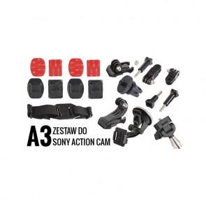 A3 Zestaw montażowy do kamer sportowych