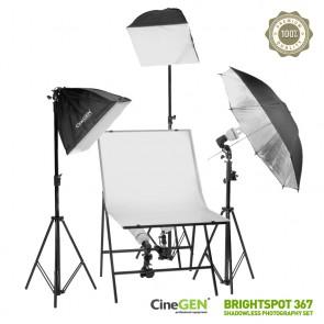 Zestaw do fotografii bezcieniowej BrightSpot™ 367