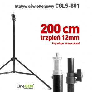 Statyw oświetleniowy CGLS-801, wysokość 200cm