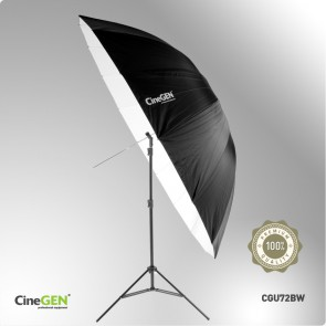 Parasolka fotograficzna, reflektor, deflektor, CineGEN CGU72BW