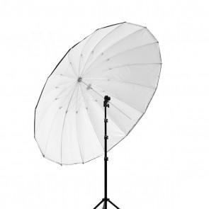 Parasolka fotograficzna biało-czarna 150cm, włókno szklane