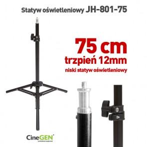 Statyw oświetleniowy 75cm z głowicą 16mm