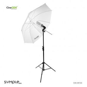 ampa światła stałego 85W z parasolką SOFTLIGHT