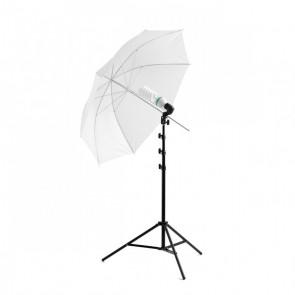 Lampa parasolkowa światła ciągłego 110cm 2x65W Softlight