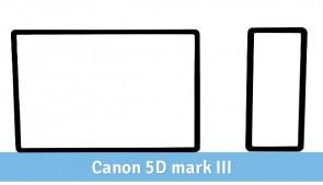 Samoprzyczepna osłona na wyświetlacz LCD Canon 5D mk III