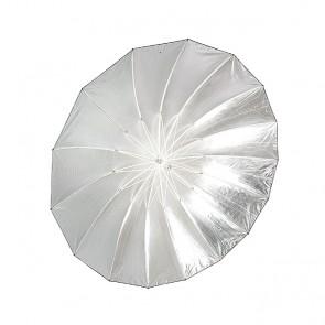 Parasolka fotograficzna CineGEN CGU60BS (rozłożona, wnętrze czaszy)
