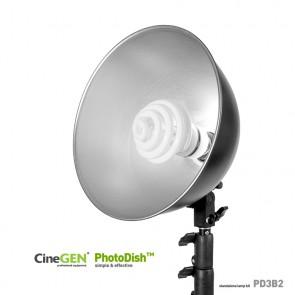 Lampa 35W foto z reflektorem i statywem