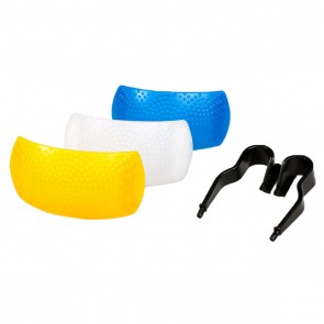 Dyfuzor POP-UP, uniwersalny, trzy kolory (neutral, yellow, blue)