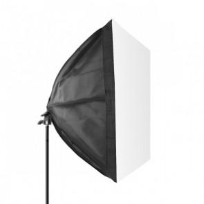Softbox 40x40cm  - oprawa na 1 żarówkę